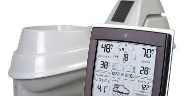 station météo avec anémomètre