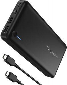 Batterie externe Nintendo Switch RavPower