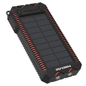 batterie externe solaire de la marque Poweradd