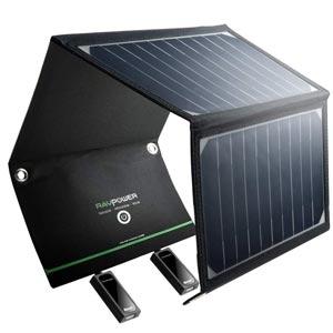 chargeur panneau solaire portable de la marque Ravpower