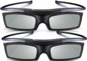 Lot de deux lunettes 3D SSG-P51002 de Samsung