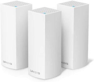 Linksys Système WiFi Mesh Multiroom triple bande Velop WHW0303
